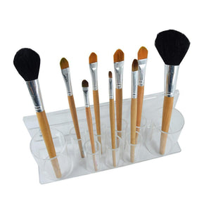 #COM6181 Acrylic Makeup Brush Holder Rack