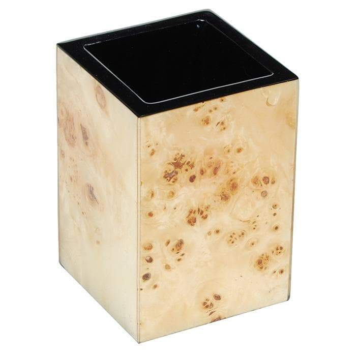 Mappa Burl Inaly Lacquer Brush Holder