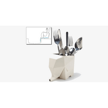 Load image into Gallery viewer, Elephant Cutlery Drainer (Shipped from USA)
