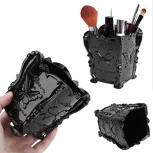 Load image into Gallery viewer, Acrylic Makeup Cosmetic Storage Box Case Brush Holder  Pen Organizer Decorative 4 Colors