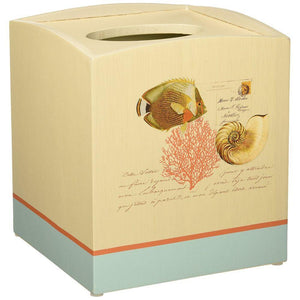Avanti Linens Seaside Vintage Tissue Box Cover
