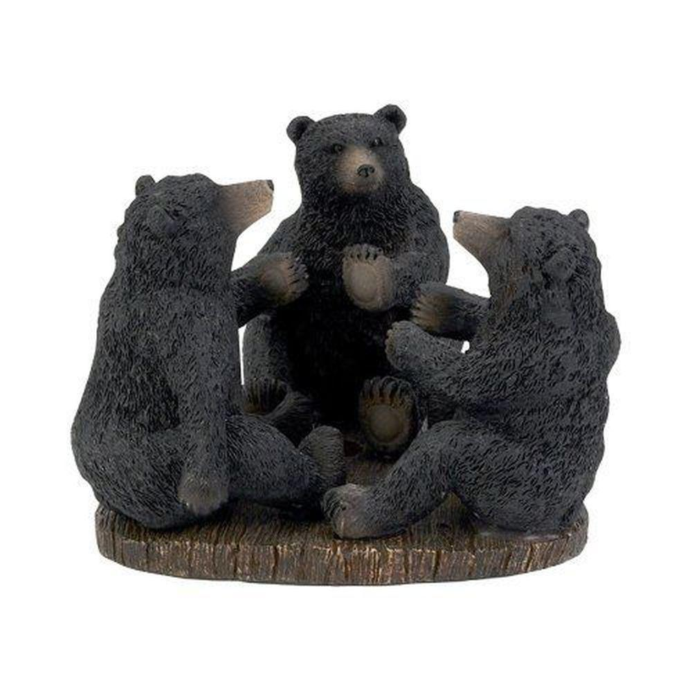 Avanti Linens Black Bear Lodge Toothbrush Holder
