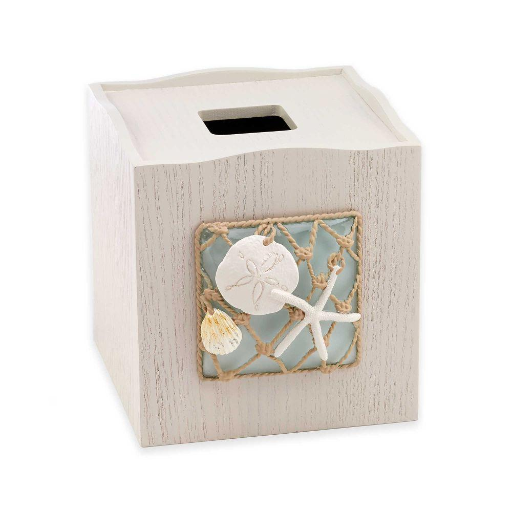 Avanti Linens Seaglass Tissue Box Cover