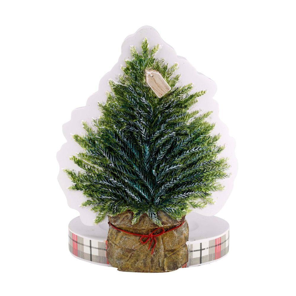 Avanti Linens Farmhouse Holiday Toothbrush Holder