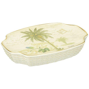 Avanti Linens Colony Palm Soap Dish