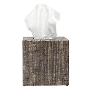Bali Brown Square Tissue Box