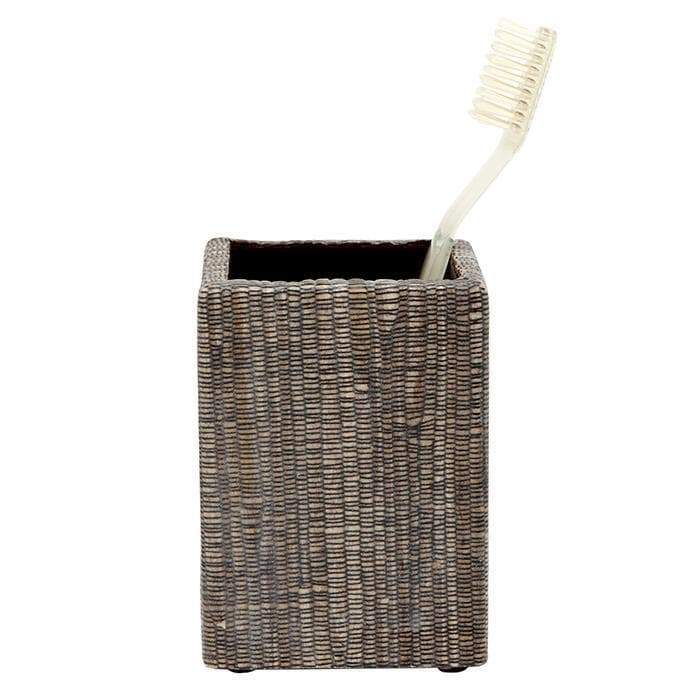 Bali Brown Brush Holder