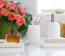 Load image into Gallery viewer, Matera White Bathroom Accessories