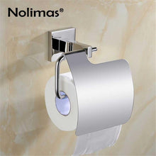 Load image into Gallery viewer, SUS 304 Stainless Steel Bathroom Hardware Set Mirror Polished Paper Holder Toothbrush Holder Towel Bar Bathroom Accessories
