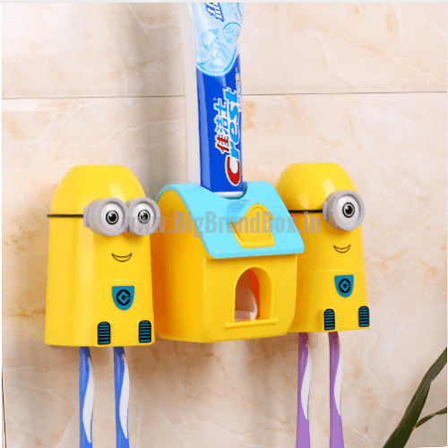Minion Toothbrush & Toothpaste Holder