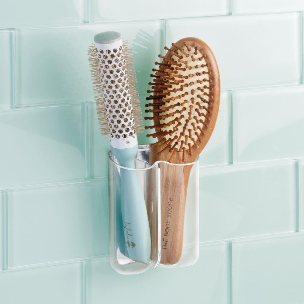 InterDesign Affix Una Dual Toothbrush Holder