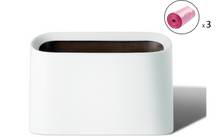 Load image into Gallery viewer, Mini Countertop Wastebasket Trash Can / Makeup Brush Holder