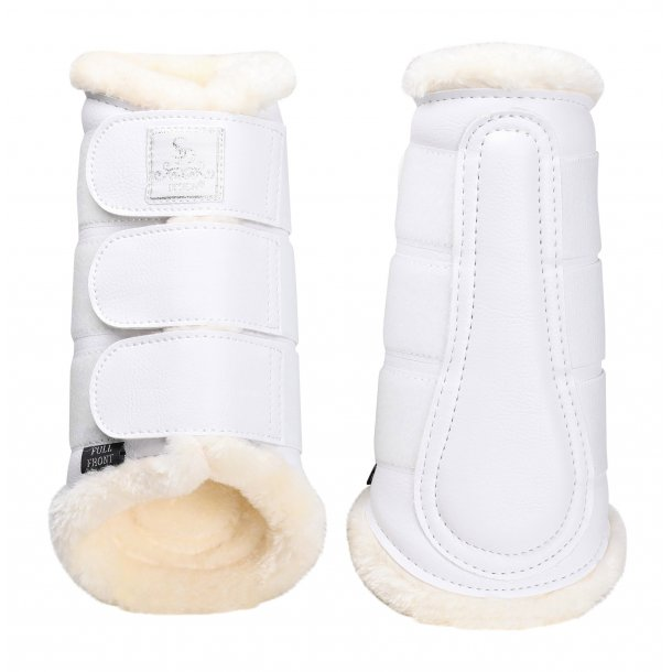 SD Show Collection Tendon boots White