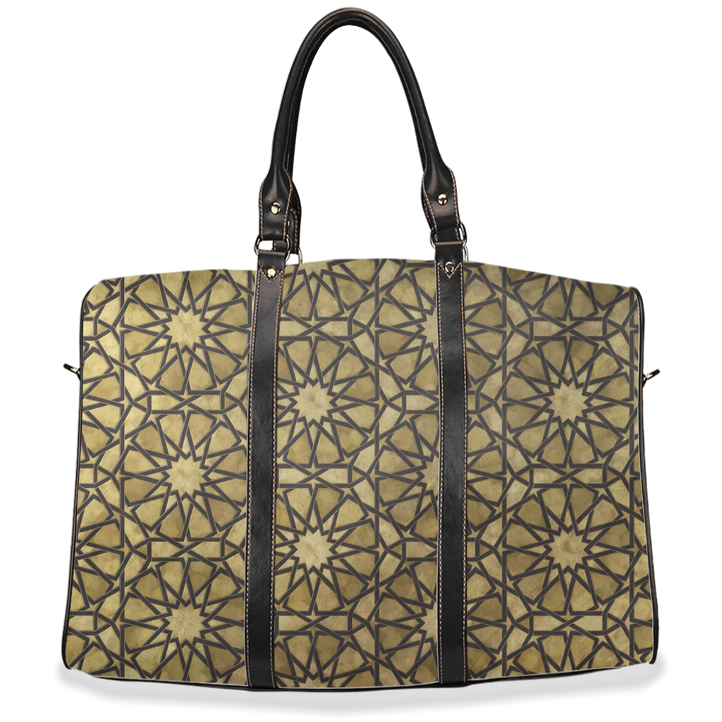 Golden Sunburst Travel Bags