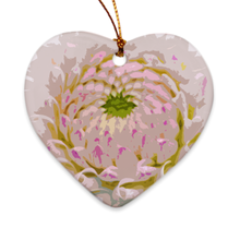 Load image into Gallery viewer, Chrysanthemum Porcelain Ornaments