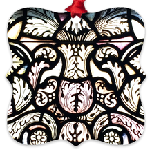 Load image into Gallery viewer, Stained Glass Design Metal Ornaments