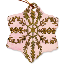 Load image into Gallery viewer, Gilded Rose Porcelain Ornaments