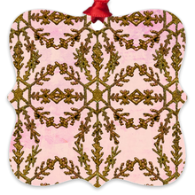 Load image into Gallery viewer, Rose Gild Metal Ornaments