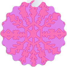 Load image into Gallery viewer, Electra Pink Metal Ornaments