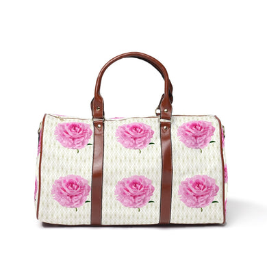 Geo Rose Travel Bags