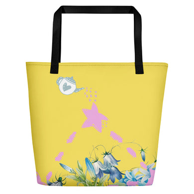 Beach Bag with spill over nature love