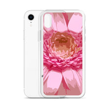 Load image into Gallery viewer, iPhone Case with pink daisy