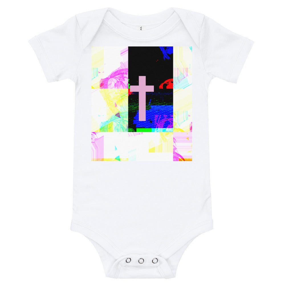 Contemporary Cross baby T-Shirt
