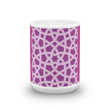 Load image into Gallery viewer, Mug with bold pink wake me up design