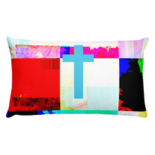 Load image into Gallery viewer, Contemporary Halftone Cross Premium Pillow