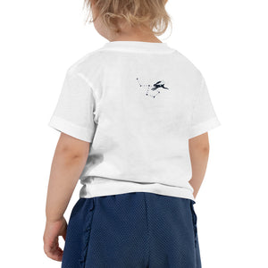 Toddler Short Sleeve Tee Rabbit over the moon