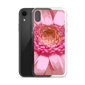 iPhone Case with pink daisy