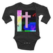 Load image into Gallery viewer, Infant Long Sleeve Contemporary Cross Bodysuit