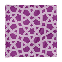 Load image into Gallery viewer, Premium Pillow Case with pink geometric design