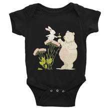 Load image into Gallery viewer, Infant Bodysuit Bear and bunny kindness