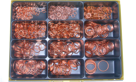 Assortment Copper-non-asbestos Washer 8-