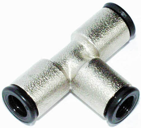 TR 10/ 8 T-red. push in connector