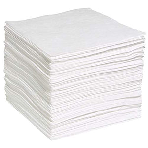 Oil & Fuel Absorbent Spill Pads (pack of 100)