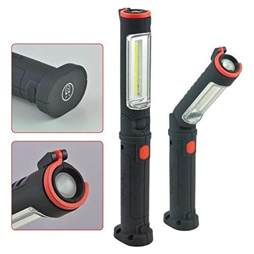 Redashe Angled Rechargeable Extra Slim Light and Torch for Work