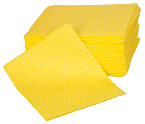 Poly pack of 100 double weight Chemical pads