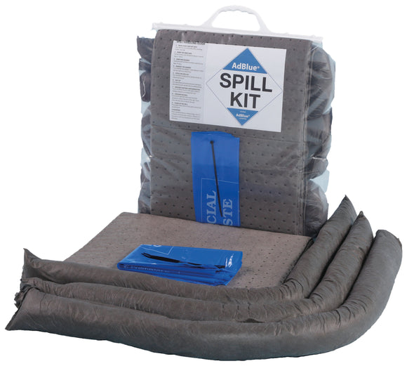 25 litre AdBlue spill kit in clip close bag