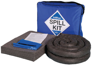 50 litre AdBlue spill kit in blue shoulder bag