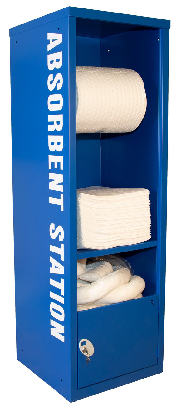Fully stocked Absorbent Station