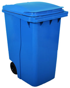 Empty Wheelie Bin (Blue) 360 Litre