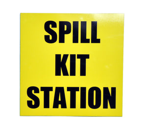 Spill Kit Location Sign 38cm X 38cm