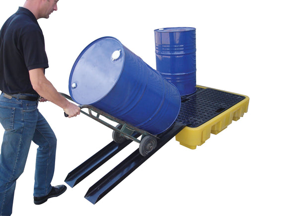 Universal Ramp set for all Workfloors and Spill Pallets. Sold as a pair.