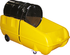Bunded 205L Drum Dolly - Yellow