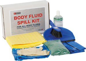 Body Fluid Spill Kit with Disinfectant Powder, in box