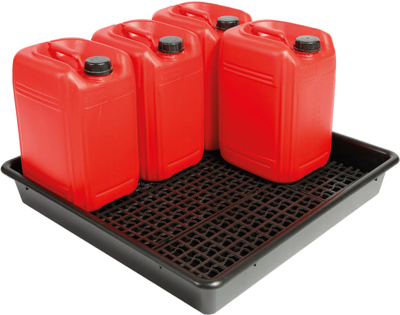 5 x 25L drum tray with container stand