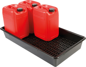 6 x 25L drum tray with container stand
