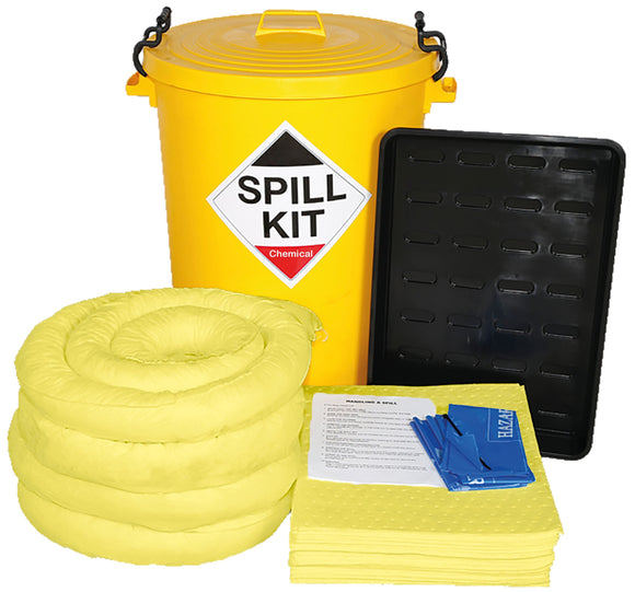 90 litre Chemical Spill Kit